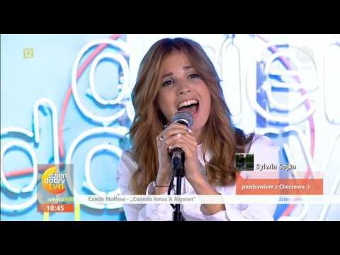 Candelaria Molfese en Polonia canta Cuando Amas a Alguien