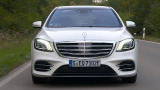 2019 Mercedes-Benz S560e Plug-in Hybrid | Diamond White | Driving, Interior, Exterior