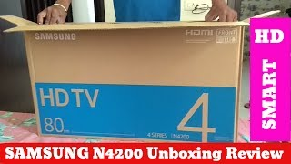 Samsung N4200 New Smart Tv 2019 | UNBOXING | Installation | 32 Inch