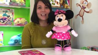How to play with My Interactive Friends Mickey and Minnie