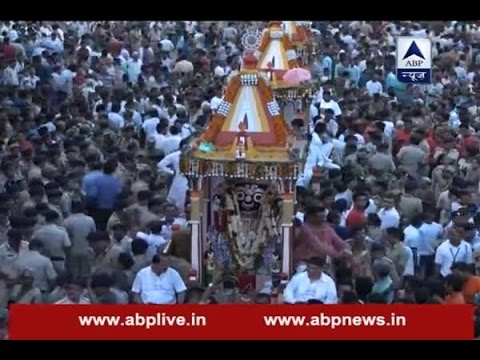 Jagannath Rath Yatra in Ahmedabad today