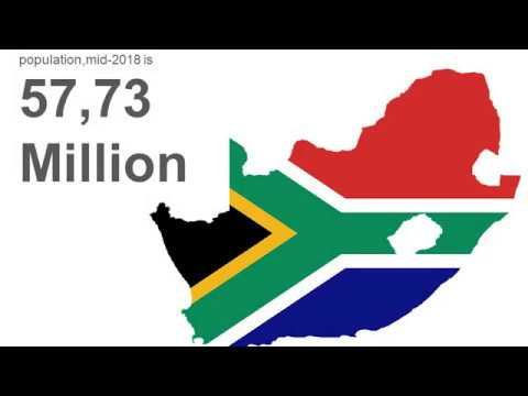 2018 mid year population of south africa youtube