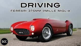 FERRARI 375 MM - sn #0370 - Mille Miglia 2014 - GoPro - V12 Engine Crash | SCC TV