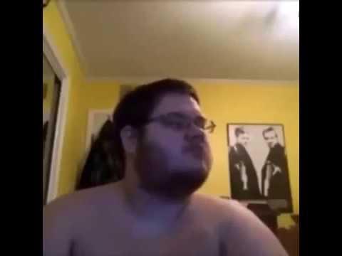 fat man dancing to arabic music