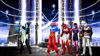 Download KOF Mugen Iori Yagami DF vs Team Orochi Blood Magaki