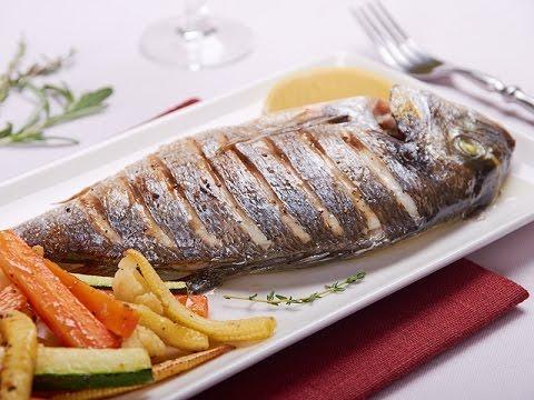 Рецепт Очень вкусная запеченая  рыба  с овощами. Ну очень вкусно