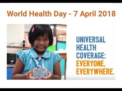 World health day - theme and slogan