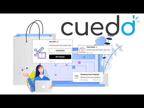 Cuedd - Social Proof Widgets to Turn Your Store Visitors Into Customers (Shorter Version)