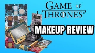 GAME OF THRONES MAKEUP COLLECTION REVIEW THE TRUTH