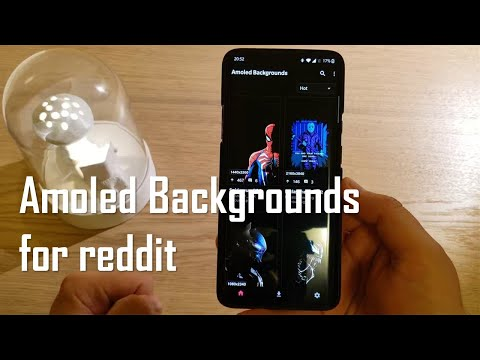 AmoledBackgrounds for reddit brings the best wallpapers for you phone!