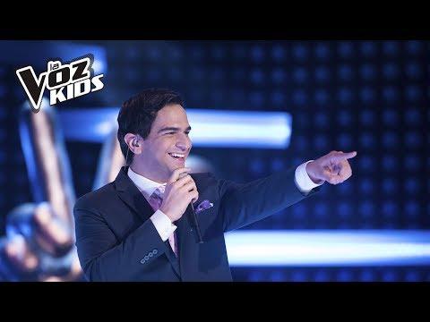 Alejandro Palacio canta A Puro Dolor | La Voz Kids Colombia 2018