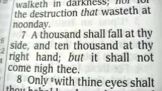 Psalm 91 King James Holy Bible