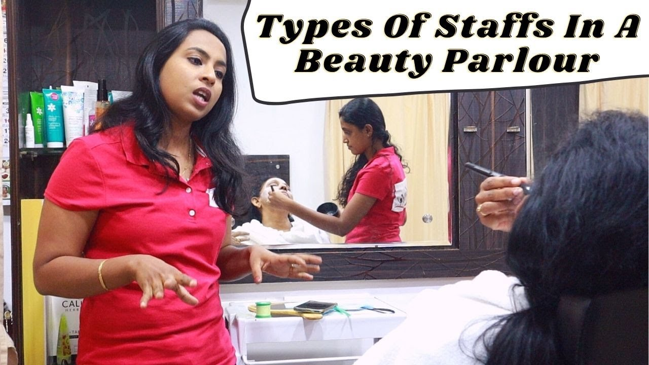 Types Of Staffs In A beauty Parlour | Bloopers At The End | Simply Silly Things