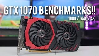 msi gtx 1070 gaming x benchmarks and review
