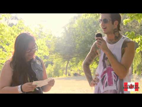 Austin Carlile Interview @ Vans Warped Tour (Montreal)