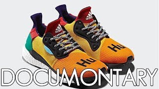 adidas x Pharrell Williams Solar Hu Glide Multi-Color • Review & On-Feet | DOCUMONTARY