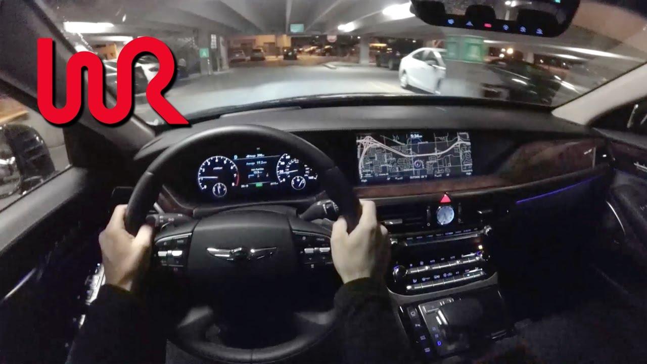 2017 Genesis G90 5 0 Ultimate Pov Night Drive Binaural Audio