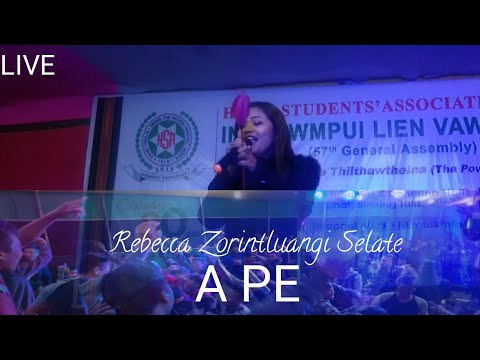 Rebecca Zorintluangi Selate | A Pe | Live | HSA General Assembly