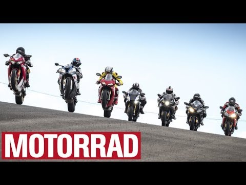 Superbikes - Test 2018 : Part 1 - The Motorcycles