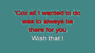 WISH I COULD 714573 [karaoke]