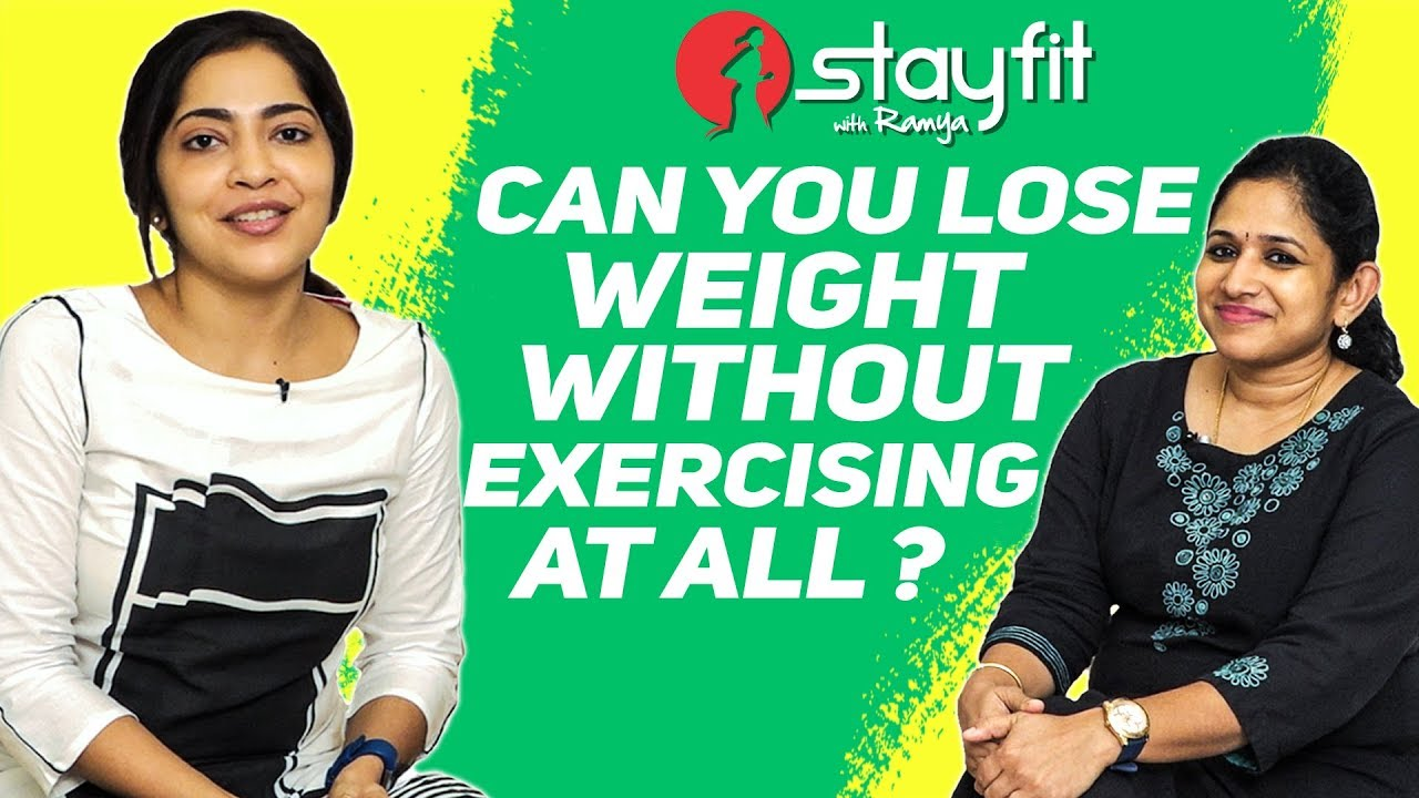 <div>DIET & NUTRITION GUIDE – Can You Lose Weight Without Exercising At All? | Ramya</div>