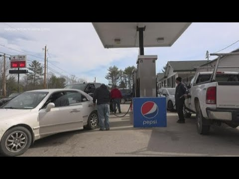 Maine gas station prices below $2 per gallon as Coronavirus fears impact oil costs
