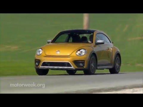 MotorWeek   Road Test: 2016 Volkswagen Beetle Dune
