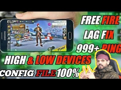 Free Fire Lag Fix Permanent After OB22 Update || New Config File For 1gb,2gb,3gb Ram