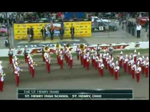 The Star Spangled Banner St Henry High School Band 07-23-14