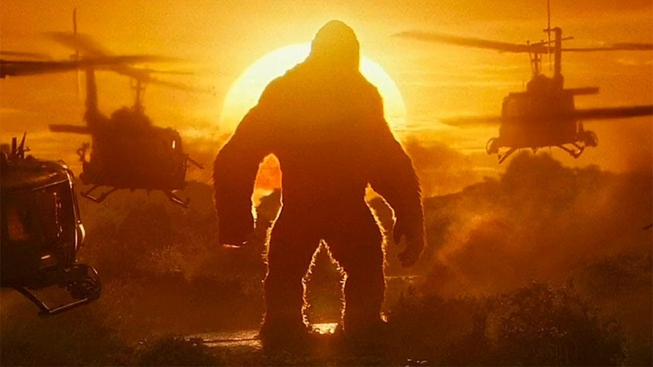 """Download """"Is That a Monkey?"""" Kong vs Helicopters - Kong: Skull Island (2017) Movie Clip HD"""