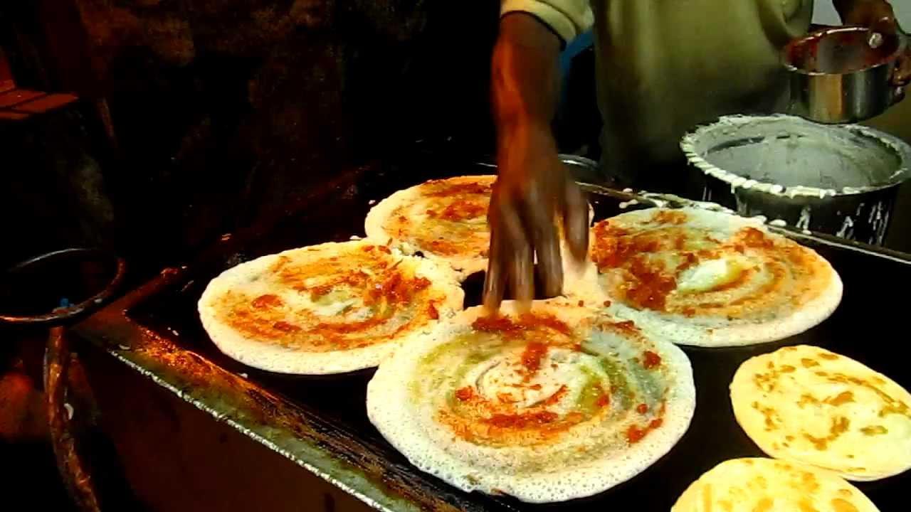 Street Food Bangalore - Masala Dosa - YouTube
