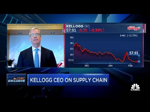 Kellogg CEO Steve Cahillane on fourth-quarter earnings results