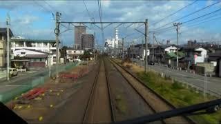 E3系R18編成 山形新幹線 とれいゆつばさ  山形駅付近