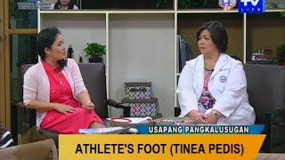 Dr Marble talks about the causes of athletes foot as well as the Pueblo Ankle and Foot Care way of t.
