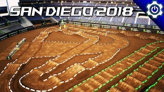 Monster Energy Supercross - Building 2018 San Diego Supercross