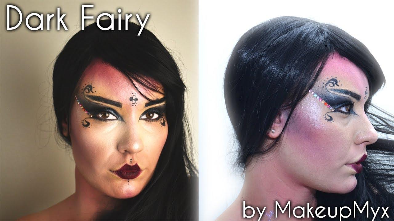 Halloween Makeup Tutorial Dark Fairy Fata Oscura Youtube