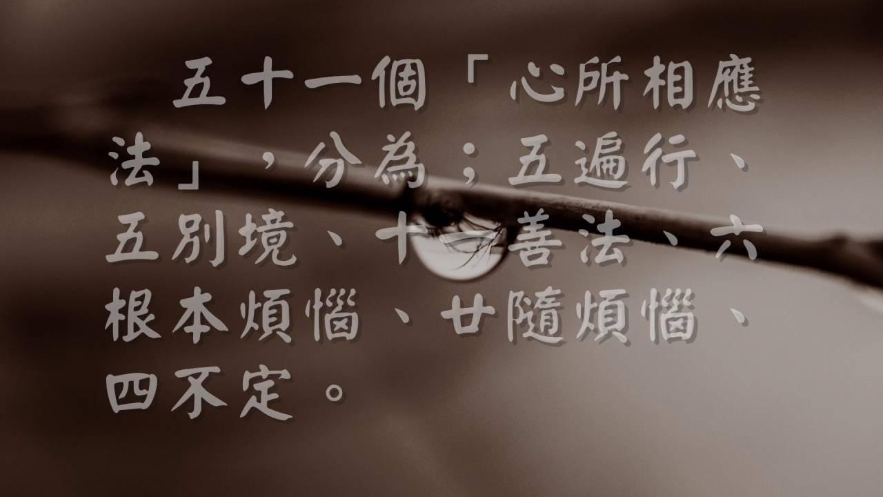 照見五蘊皆空 五蘊的內容(觀成法師之廣結善緣 2304) - YouTube