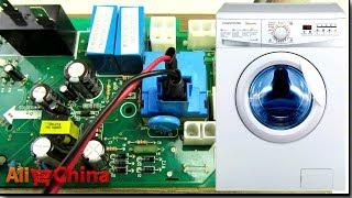 Ремонт стиральной машины своими руками. Не включается, ремонт блока управления своими руками.