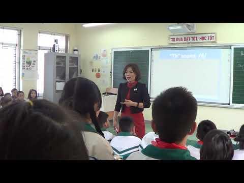 Dự giờ giáo viên Giỏi thành phố Hà Nội môn tiếng Anh - lớp 4