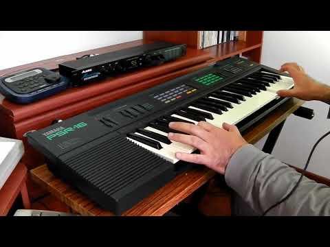Yamaha PSR-16 FM Synthesizer Alesis MicroVerb4 Superteclados.com