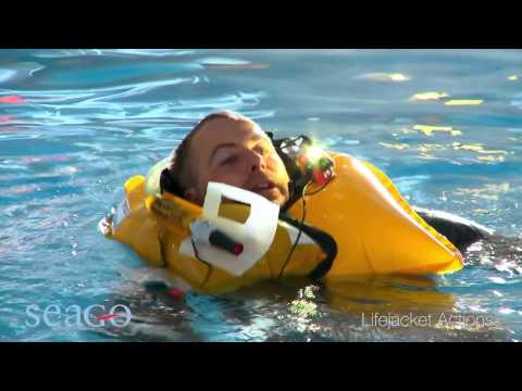 SEAGO Lifejacket performance | Pirates Cave Chandlery