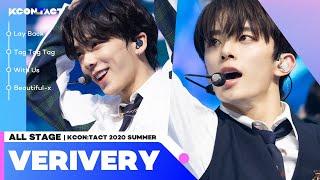 [All Stage🎁] VERIVERY (베리베리) @KCON:TACT 2020 Summer