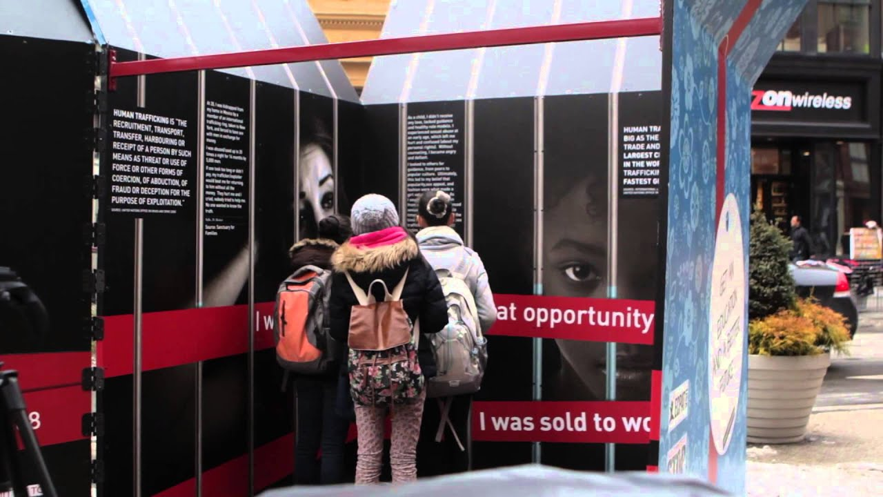 UN Gift Box from Stop the Traffik - YouTube