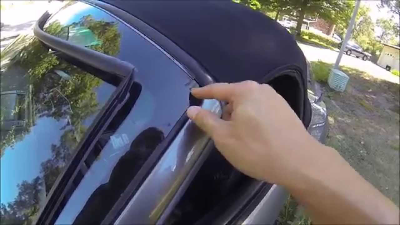 Windshield Trim Replacement Z4 Vlog 8 Youtube