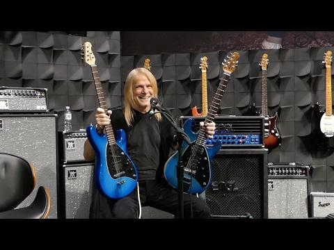 "STEVE MORSE ""Guitar Collection"" (NAMM Show 2017)"