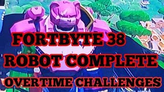 Fortnite Fortbyte 38 Live Location, Robot Event, Flex Your Banner, Gifting Banner Cape
