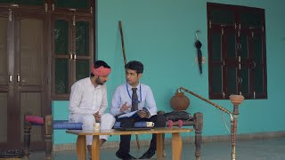 Young attractive dealer with an Indian villager - Discussing some legal documents