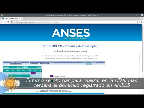 Anses Turnos Via Web Youtube