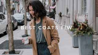 BEST COATS FOR AUTUMN WINTER   ❄️winter outerwear essentials ❄️(2018)
