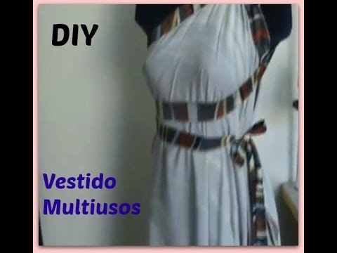como hacer un vestido multiusos facil y rapido diy how to make a